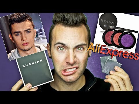 Kuckian Cosmetics vs AliExpress | IS IT A DUPE?!?!?! | PopLuxe