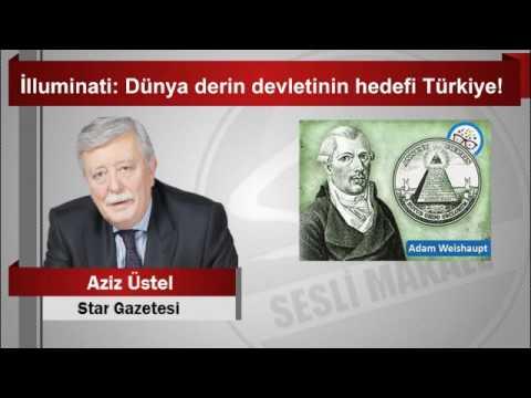 Aziz üstel Illuminati Dünya Derin Devletinin Hedefi Türkiye Youtube