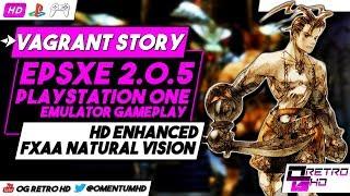 Vagrant Story | ePSXe v2.0.5 - PS1 Emulator PC Gameplay | HD - 60ᶠᵖˢ