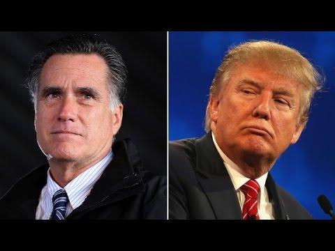 Mitt Romney: Donald Trump is a