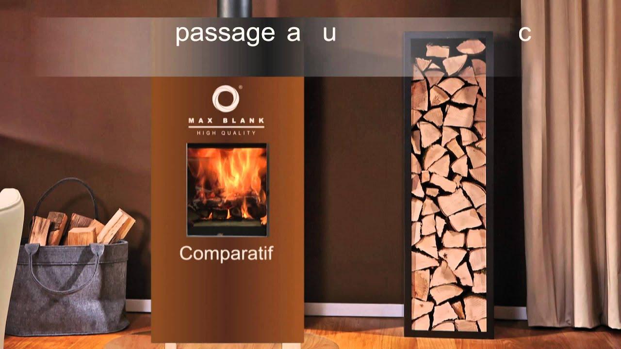 max blank comparaison feu de bois pellet ko ia fr youtube. Black Bedroom Furniture Sets. Home Design Ideas