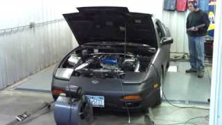 sr20det with 50 trim 63 a r t3 t4 dyno 372whp