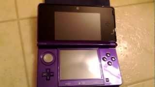 Midnight Purple Nintendo 3DS (Unboxing)