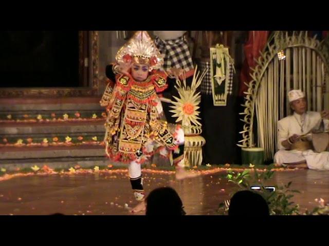 Baris Dance Balerung Stage Peliatan (Tirtasari)