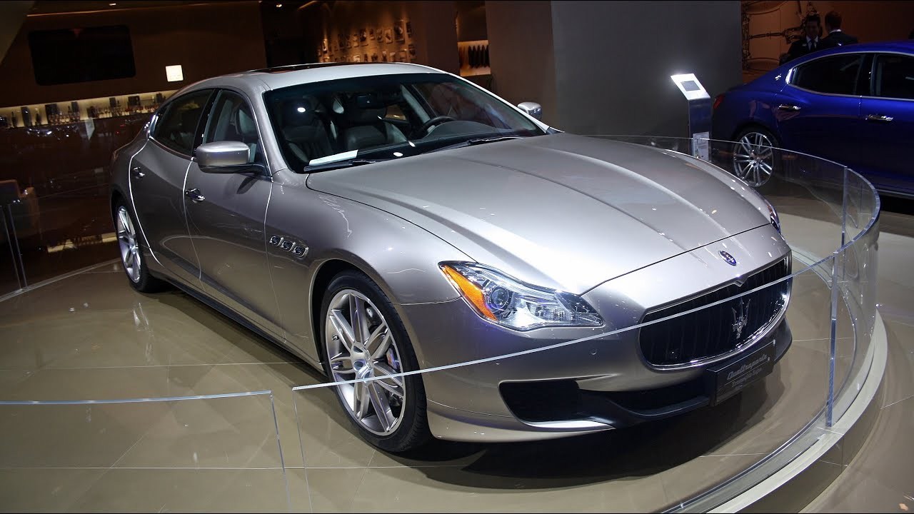 WORLD DEBUT: 2014 Maserati Quattroporte Ermenegildo Zegna Limited ...