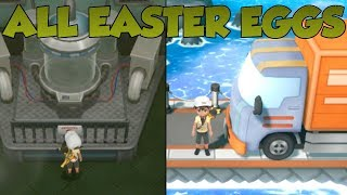 Pokemon Lets Go Pikachu and Eevee - All Easter Eggs