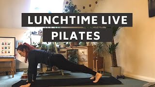 Lunchtime Live || 30 minute Pilates Workout || Abs & Glutes