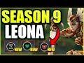 SEASON 9 RUNES MAKE LEONA BEYOND BROKEN!! *NEW* PRE-SEASON GAMEPLAY AND RUNES! - League of Legends