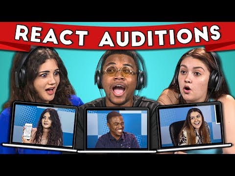 College Kids React to Their Audition for College Kids React #2