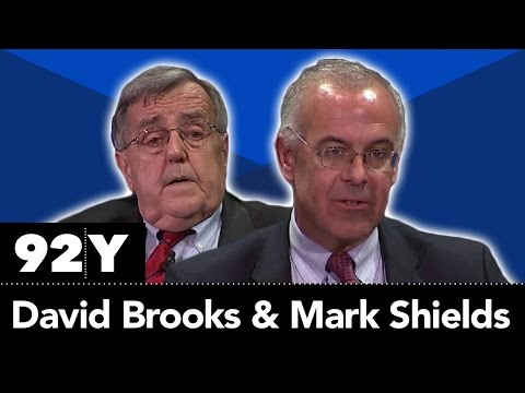 David Brooks and Mark Shields with Jeff Greenfield