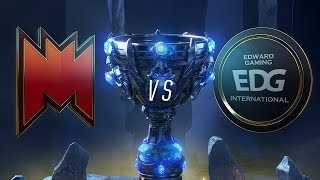 INF vs EDG - Worlds 2018 S1D4P2 - Play-In