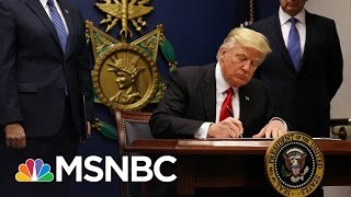 Washington State To Join Hawaii In Challenge To New Travel Ban | MSNBC