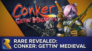 Rare Revealed: Concept Showcase - Conker: Gettin