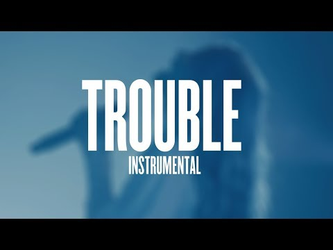 halsey - trouble (instrumental + lyrics)