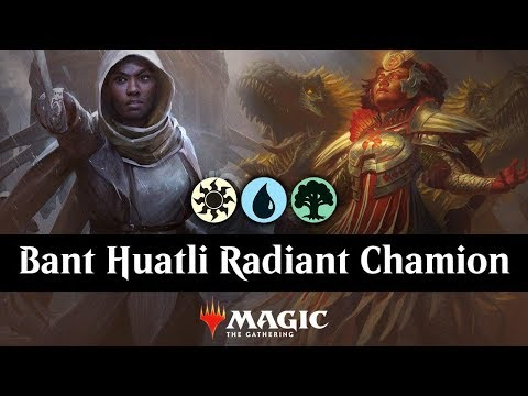Bant Huatli Radiant Champion & Hero of Precinct One Tokens
