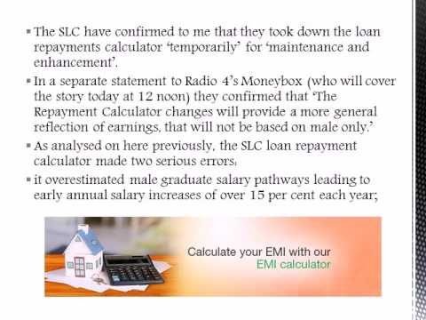 Education Loan Calculator India : SLC Loan Repayment Calculator Is Being Fixed