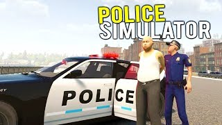 MAKING AN ARREST FOR DESTRUCTION OF PROPERTY IN A POLICE SIMULATOR! - Flashing Lights New Gameplay
