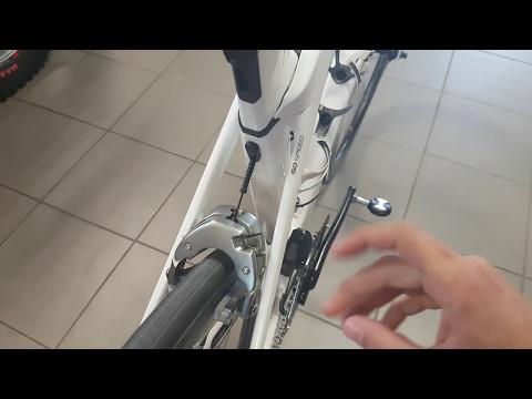 Trek Madone 9 brake adjustment - How to