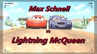 Disney Pixar Cars Fast as Lightning - McQueen vs Max
