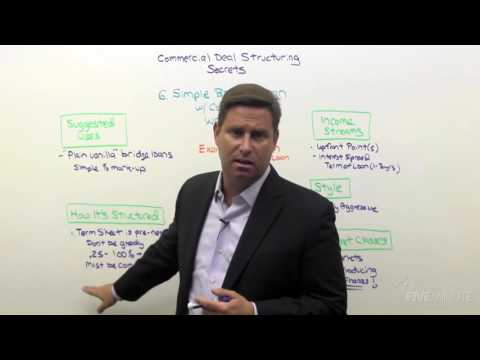 Commercial Deal Structuring 08: Creating Interest Income From Thin Air