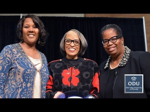 American anthropologist, Dr. Johnnetta B. Cole, visits Old Dominion University