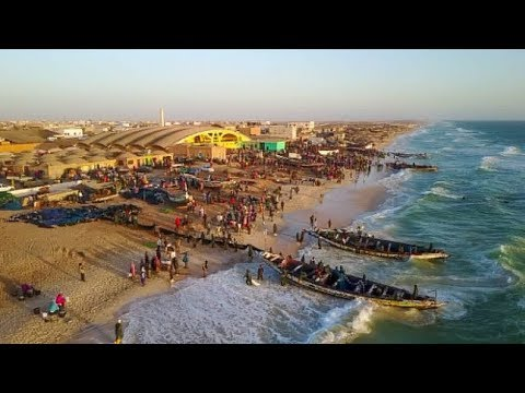 One of the world's most incredible fishing ports in Mauritania