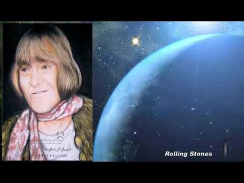 تعليم رسم البورتريه Brian Jones Rolling Stones Speed Drawing Portrait