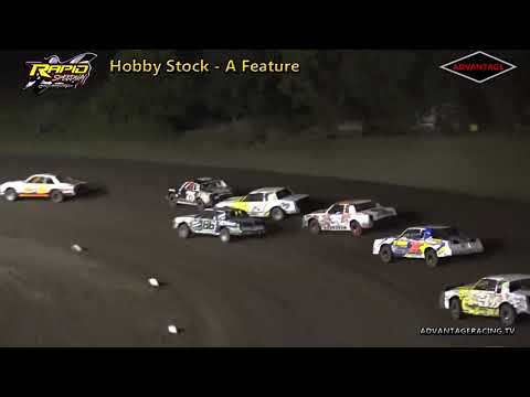 Hobby Stock Feature - Rapid Speedway - 9/14/18