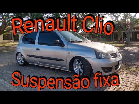 Renault Clio / Suspensão FIXA /Rodas 15.