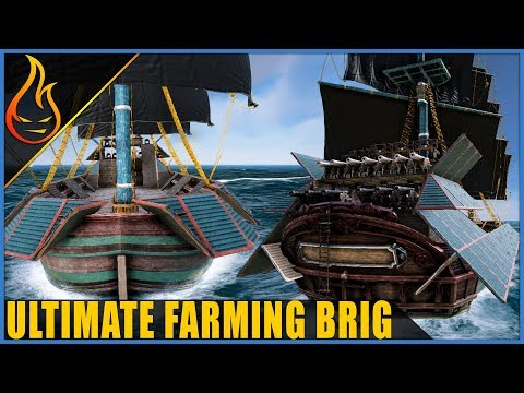 Ultimate Multipurpose Farming Brigantine Atlas MMO Build Guide