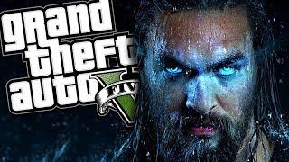 THE NEW AQUAMAN MOVIE MOD (GTA 5 PC Mods Gameplay)