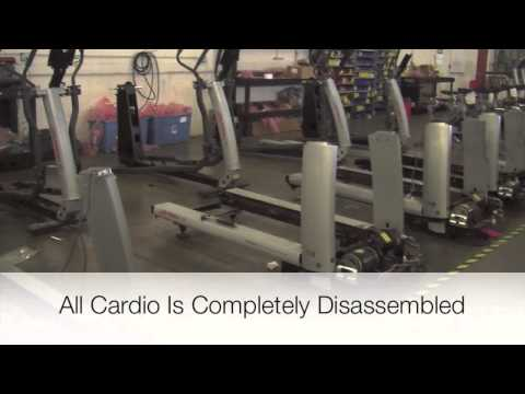 Used Gym Equipment For Sale Remanufacturing Factory Video Tour
