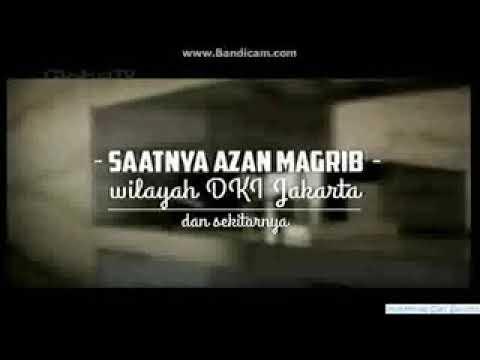 Adzan maghrib merdu GTV (Global TV)
