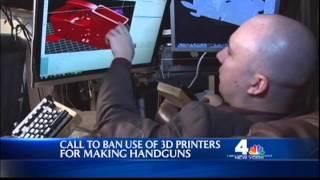Thomas Ruskin on WNBC News - 3D Plastic Guns
