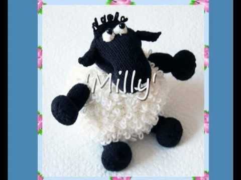 Milly Loopy Sheep Lamb Dk Knitting Pattern Youtube