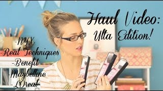 Ulta Make Up Haul!! - NYX, Maybelline, L'Oreal, Real Techniques & Benefit Thumbnail