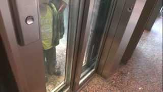 OTIS 2000 MRL Traction elevator @ Heron City mall, Kungens Kurva, Stockholm, Sweden.