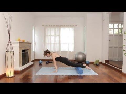 Cómo tonificar los abdominales bajos : Ejercicios de Pilates 5