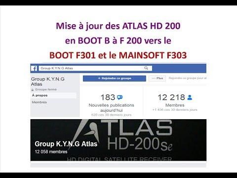 ATLAS F301 HD 200 TÉLÉCHARGER BOOT