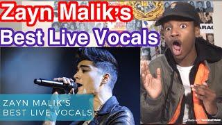 Zayn Malik's Best Live Vocals Reaction
