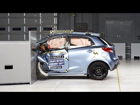 2013 Mazda 2 Çarpışma Testi