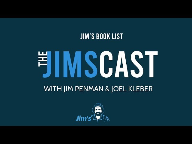 #THEJIMSCAST - What does the CEO and Founder of Jim's Group, Jim Penman read?