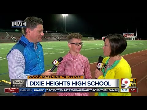 Dixie Heights HS Junior Looking Forward To First Home Football Game