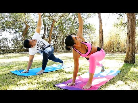 full body yoga workout  30 minute stretches for flexibility