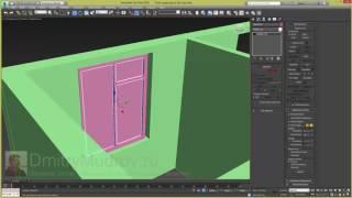Окно в 3d max, создание окна в 3d max - 2/3