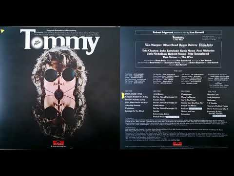 TOMMY THE MOVIE 1975 REMASTERED Part 1 of 2 (from Original vinyl recording)