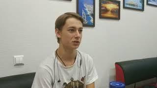 Алексей - студент механического техникума (Zespol Szkół Mechanicznych nr 2) в Кракове (Польша)