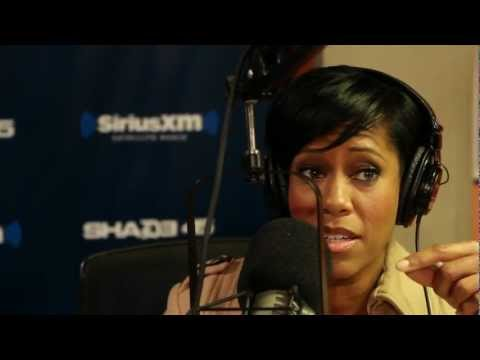 REGINA KING SHARES MEMORIES OF WORKING W ICE CUBE & TUPAC SWAYINTHEMORNING