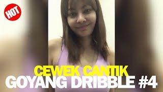 Bigo Live Cewek Goyang Dribble di Kasur Pakai Tank Top Pink