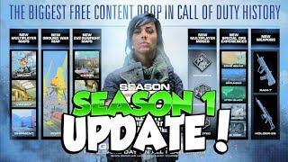 NEW Modern Warfare Huge SEASON 1 UPDATE (Free Maps)
